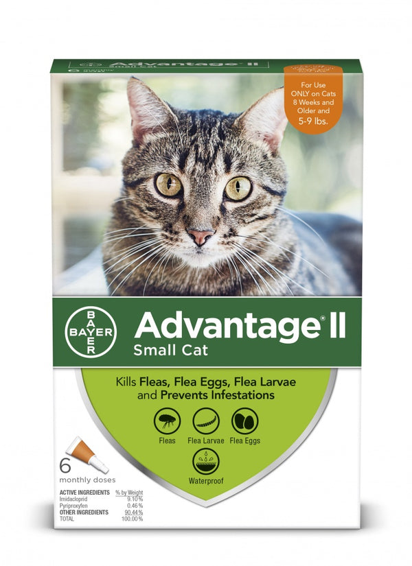 Bayer Advantage II Small Cat