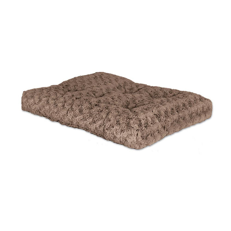 QuietTime® Deluxe Ombre Pet Bed Swirl Taupe to Mocha Color 24 Inch