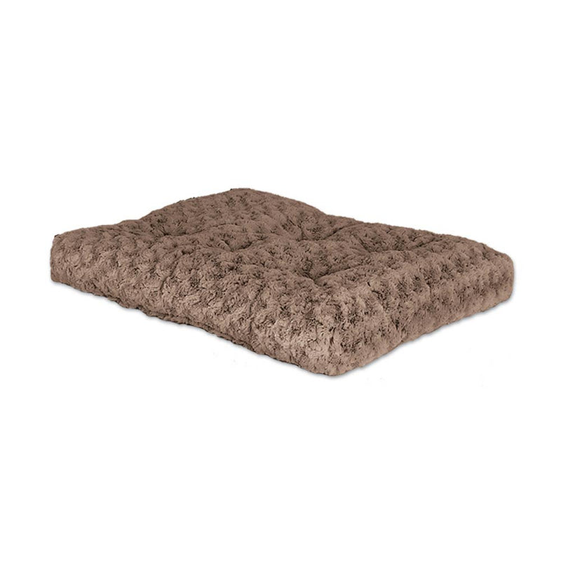QuietTime® Deluxe Ombre Pet Bed Swirl Taupe to Mocha Color 48 Inch