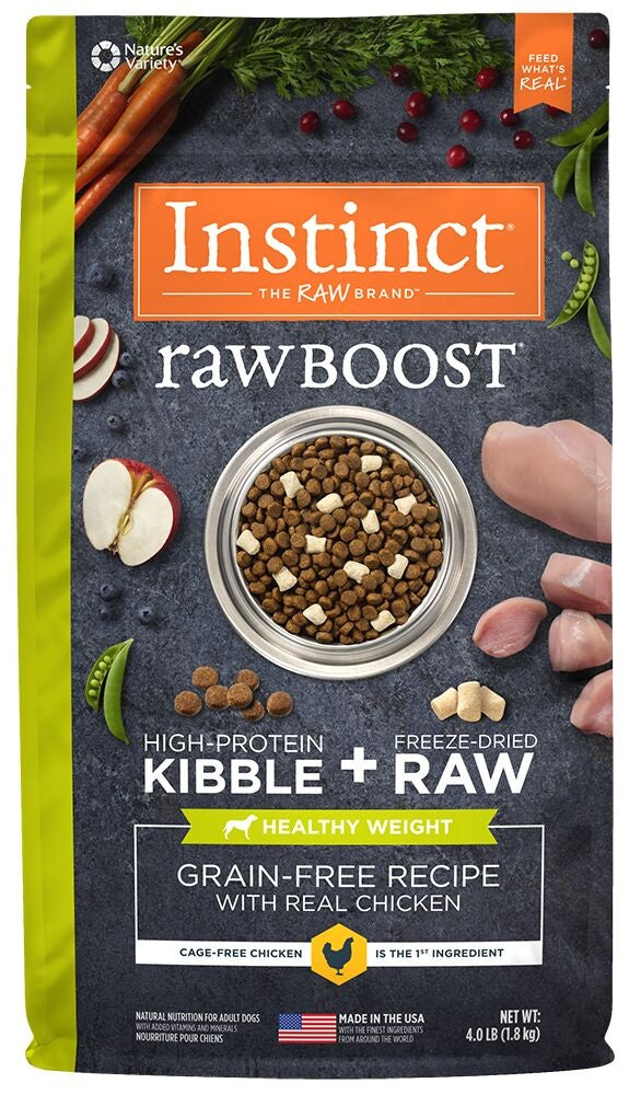 Instinct Healthy Weight Grain Free Chicken Meal Formula Dry Dog Food