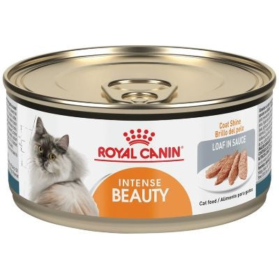 Royal Canin Feline Health Nutrition Intense Beauty Loaf in Sauce Canned Cat Food