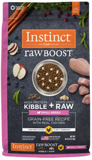 Instinct Raw Boost Small Breed Grain-Free Chicken Meal Dry Dog Food