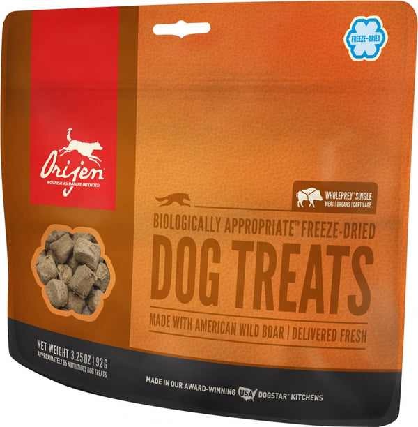ORIJEN Freeze Dried Wild Boar Dog Treats