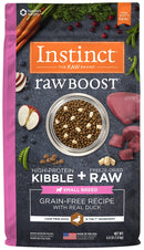 Instinct Raw Boost Small Breed Grain Free Recipe with Real Duck Natural Dry Dog Food
