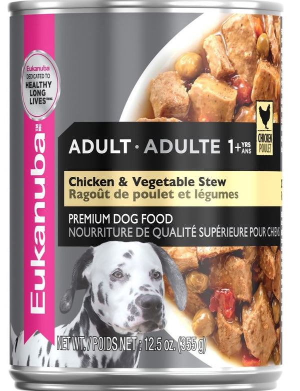 Eukanuba Adult Chicken & Vegetable Stew Canned Dog Food