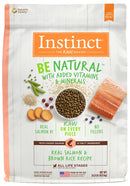 Instinct Be Natural Salmon & Brown Rice Recipe Dry Dog Food