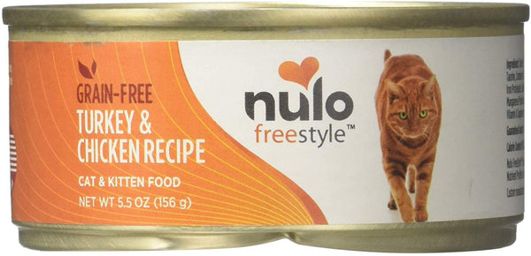 Nulo FreeStyle Grain Free Turkey & Chicken Recipe Canned Food