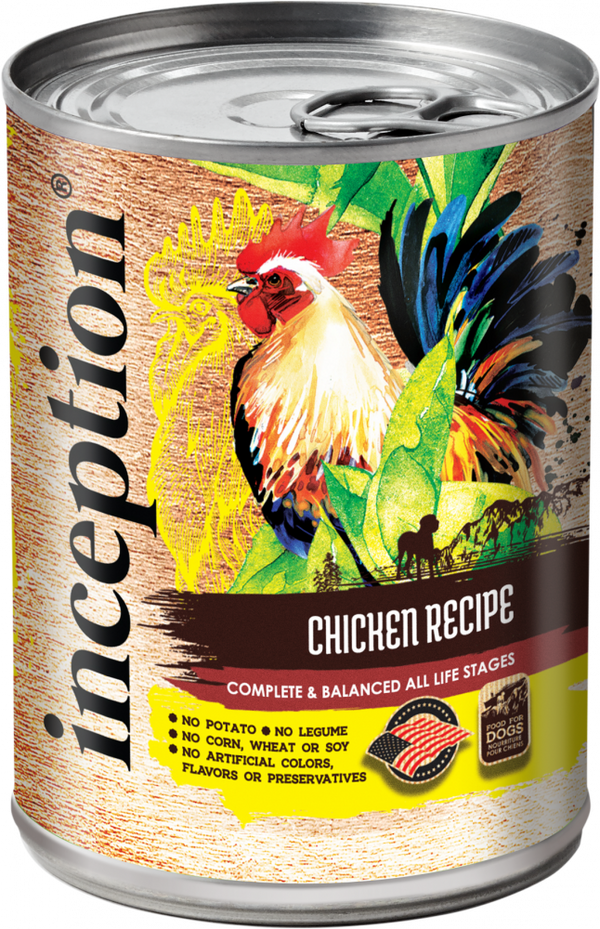 Inception Chicken Recipe Canned Dog Food