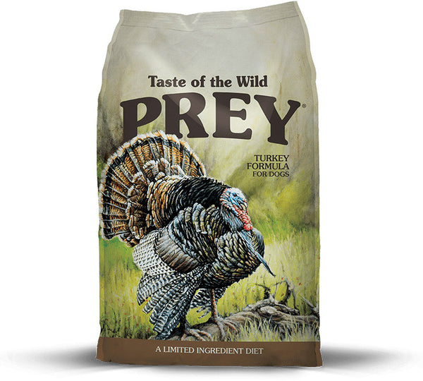 Taste Of The Wild Grain Free Prey Limited Ingredient Turkey Dry Dog Food