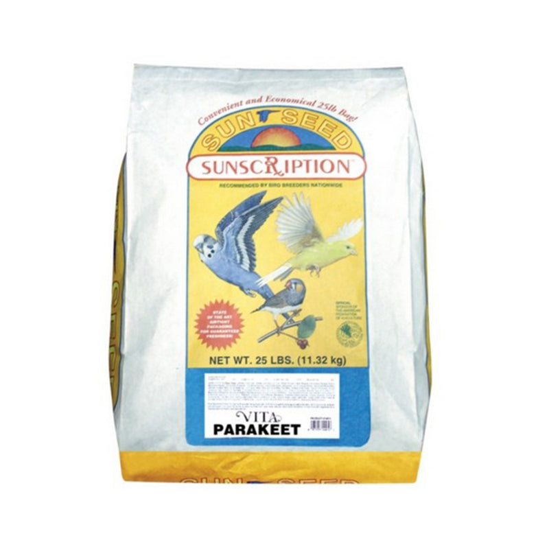 Sunseed® Vita Sunscription® Parakeet Diet 25 Lbs