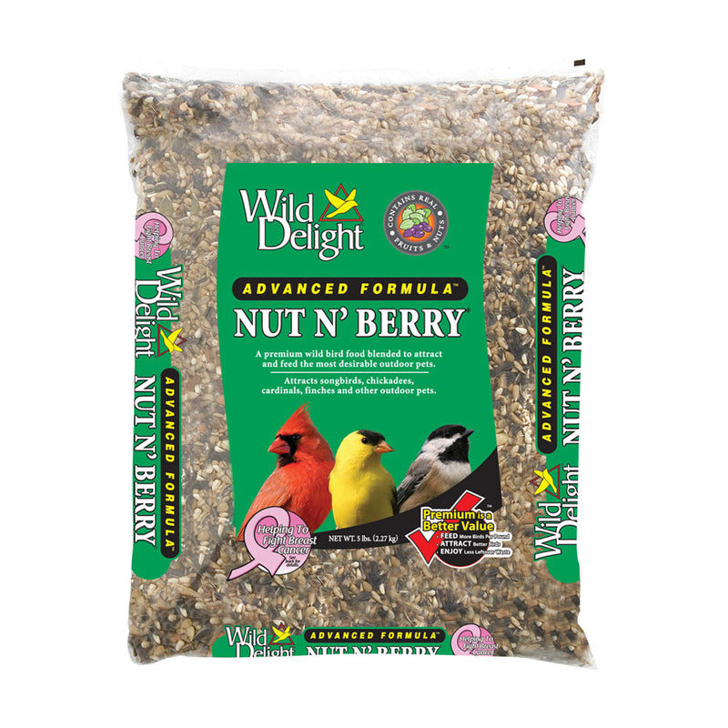 Wild Delight® Advanced Formula® Nut N' Berry® for Outdoor Pets 5 Lbs