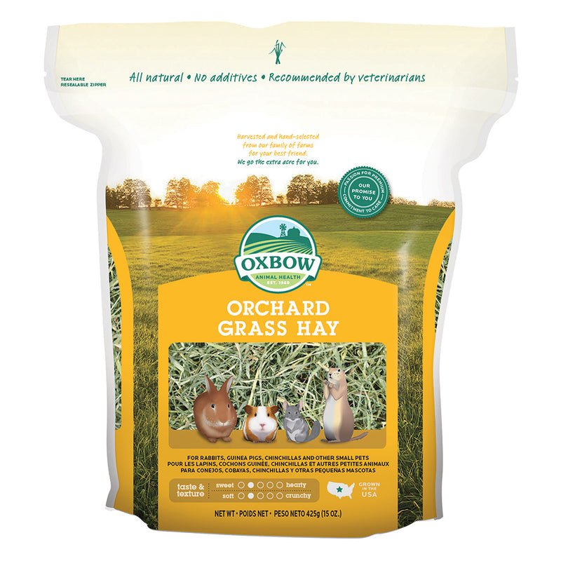 Oxbow Animal Health® Orchard Grass Hay 15 Oz