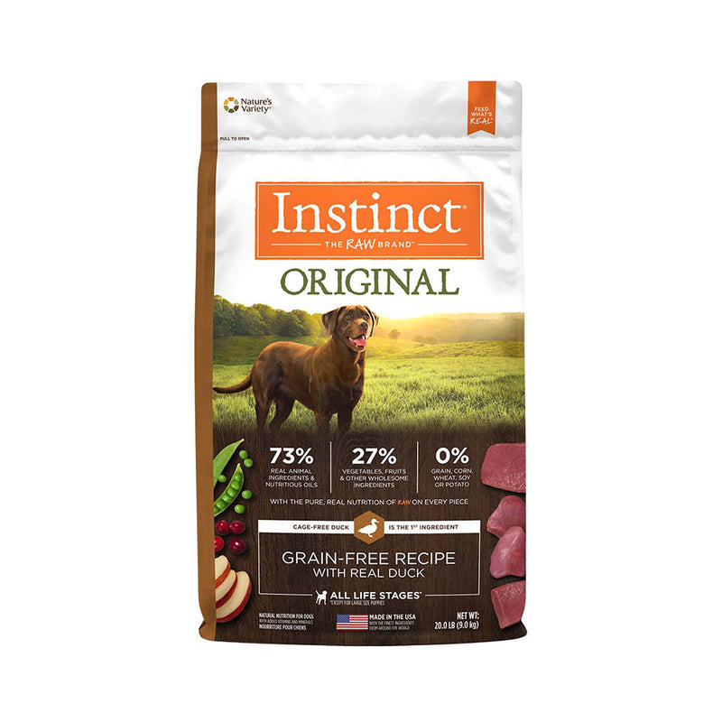 Instinct® Original Grain Free Recipe with Real Duck Dog Food 20 Lbs
