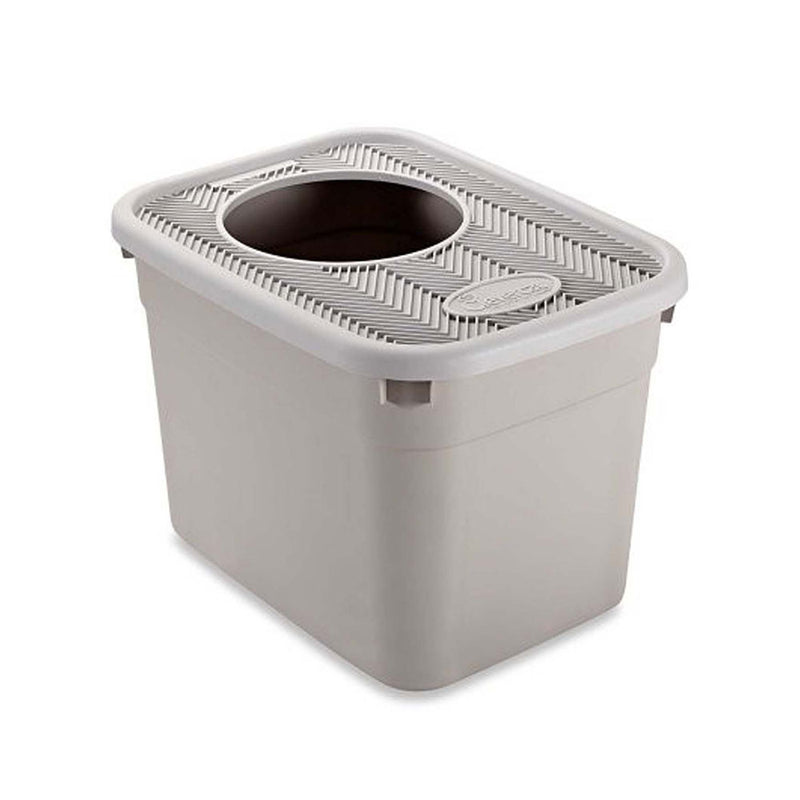 Clevercat® Top-Entry Litterbox 20 x 15 x 15 Inch