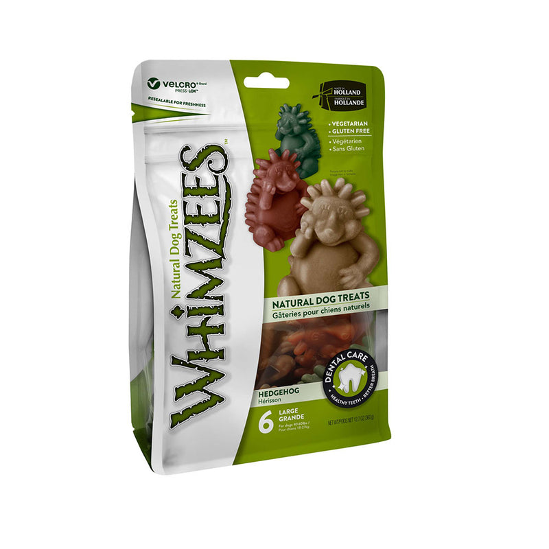 Whimzees™ Large Gluten Free Hedgehog Dog Dental Chews 12.7 Oz