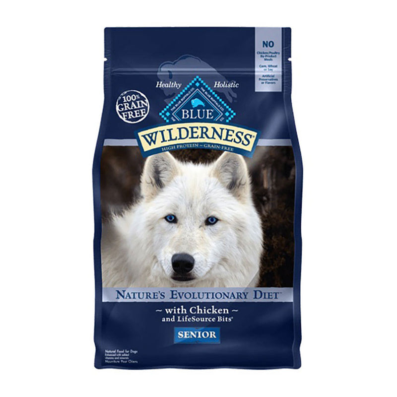 Blue Buffalo® Wilderness™ Nature's Evolutionary Diet Grain Free Chicken Senior Dog Food 4.5 Lbs