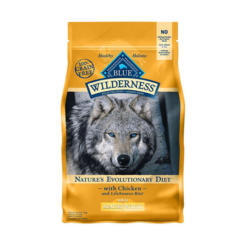 Blue Buffalo® Wilderness™ Nature's Evolutionary Diet Grain Free Healthy Weight Chicken Adult Dog Food 4.5 Lbs