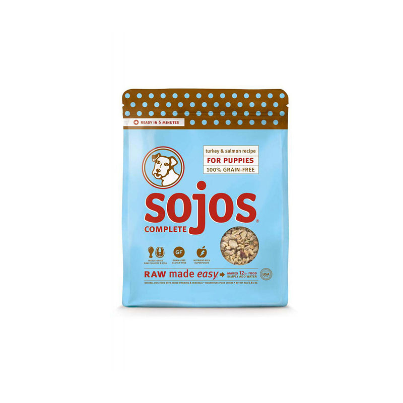 Sojos® Complete Grain Free Turkey & Salmon Recipe Puppy Food 4 Lbs