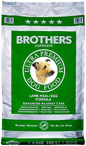 Brothers Complete Ultra Premium Dog Food Lamb Meal & Egg Grain Free Formula 25lb bag
