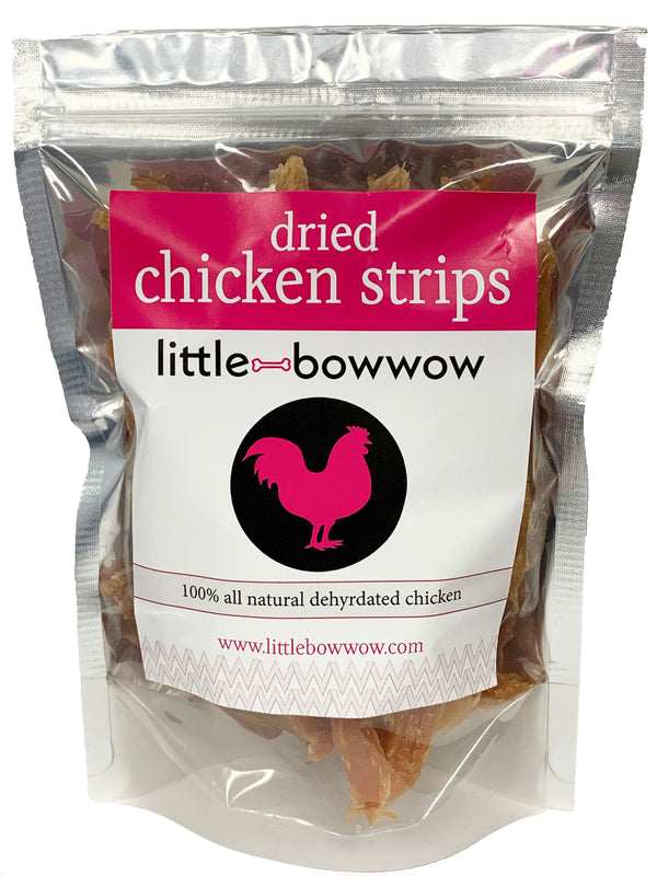 Little Bow Wow | All Natural Grain Free Dried Chicken Strips