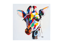 Load image into Gallery viewer, Bundle of 5 greeting cards of pop art animals - Fun Animal Art