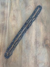 Load image into Gallery viewer, Blue Crystal Bead Necklace