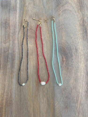 Crystal Bead Chokers