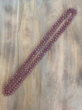 Load image into Gallery viewer, Frosted Wine Crystal Bead Necklace