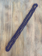Load image into Gallery viewer, Royal Blue Crystal Bead Necklace