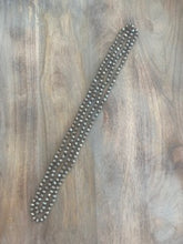 Load image into Gallery viewer, Silver Crystal Bead Necklace