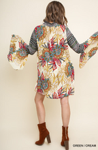 Load image into Gallery viewer, Floral and Paisley Dress by Umgee