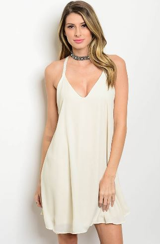 Ivory Halter Sundress