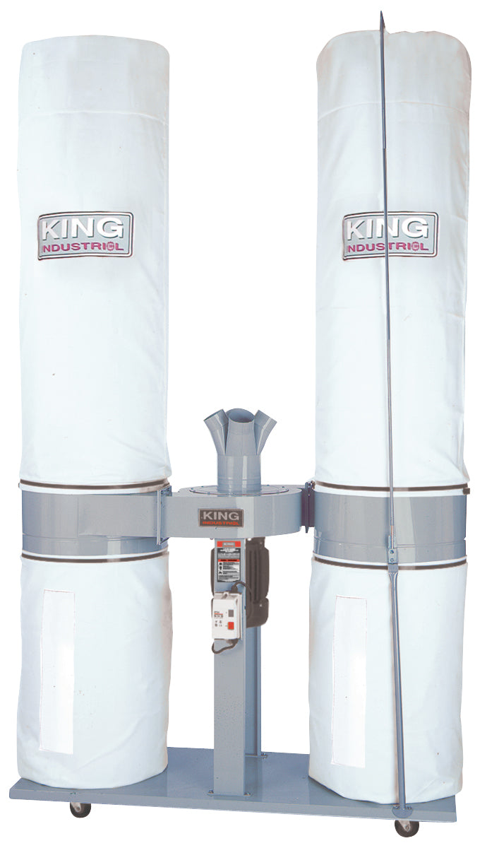 King Canada Dust Collector 220 Volt KC-5043FX-2