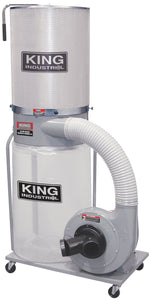 King Canada Dust Collector With Canister Filter 220 Volt KC-3109C/KDCF-3500