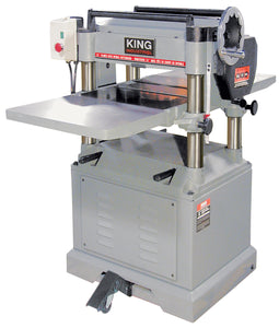 "King Canada 15"" Industrial Planer With 3 Knife Cutterhead KC-385FX"