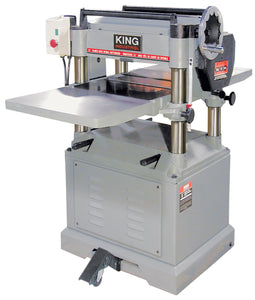 "King Canada 15"" Industrial Planer With Spiral Cutterhead KC-390FX"