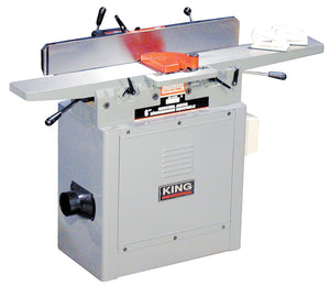 "King Canada 6"" Industrial Jointer With 3 Knife Cutterhead KC-70FX"
