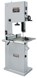 "King Canada 21"" Wood Bandsaw With Resaw Guide KC-2102FXB"