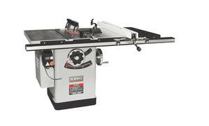 "King Canada 10"" Extreme Cabinet Saw With Riving Knife Blade Guard System KC-26FXT/i30/30"