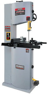 "King Canada 14"" Wood Bandsaw With 12"" Resaw Capacity KC-1502FXB"