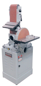"King Canada 6"" X 48"" Belt And 12"" Disc Sander KC-788FX"
