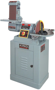 "King Canada 6"" X 48"" Belt And 12"" Disc Sander KC-790FX"