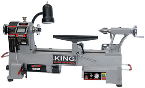"King Canada 12"" X 18"" Variable Speed Wood Lathe KWL-1218VS"