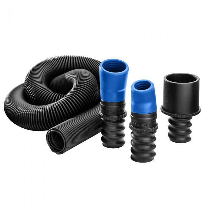 Dust Right FlexiPort Power Tool Hose Kit, 3' to 12' Expandable