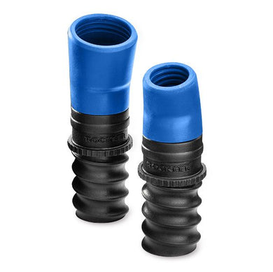 Replacement Hose Ports for Dust Right FlexiPort Power Tool Hose Kit, 3' to 12' Expandable