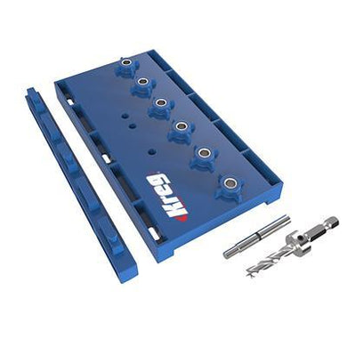 Shelf Pin Jig with ¼
