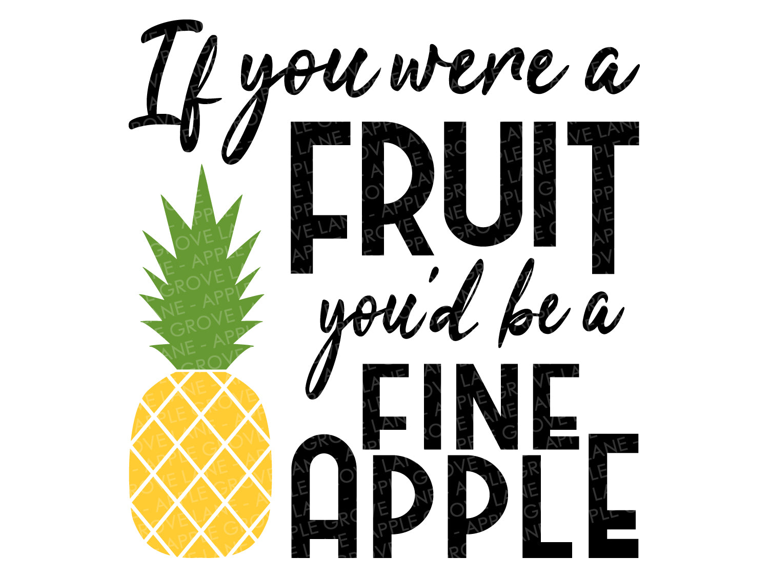Pineapple Svg - Fruit Svg - Fine Apple Svg - Stand Tall Svg - Tropical Svg - Hawaii Svg - Fineapple Svg - Beach Svg Eps Png Dxf