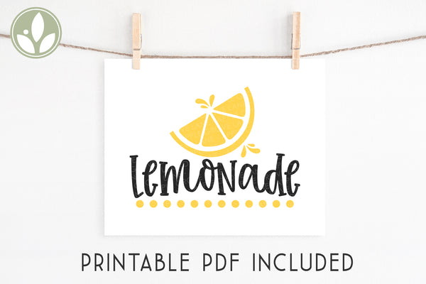 When Life Gives You Lemons SVG, Lemons Svg, Lemonade Svg, Summer Svg, Kitchen Svg, Make Lemonade Svg, Lemonade Sign, Lemonade Shirt Svg