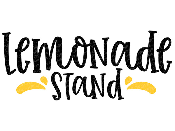 Lemonade Stand Svg - Lemons Svg - Summer Svg - Lemonade Svg - Lemon Svg - Svg Eps Dxf Png