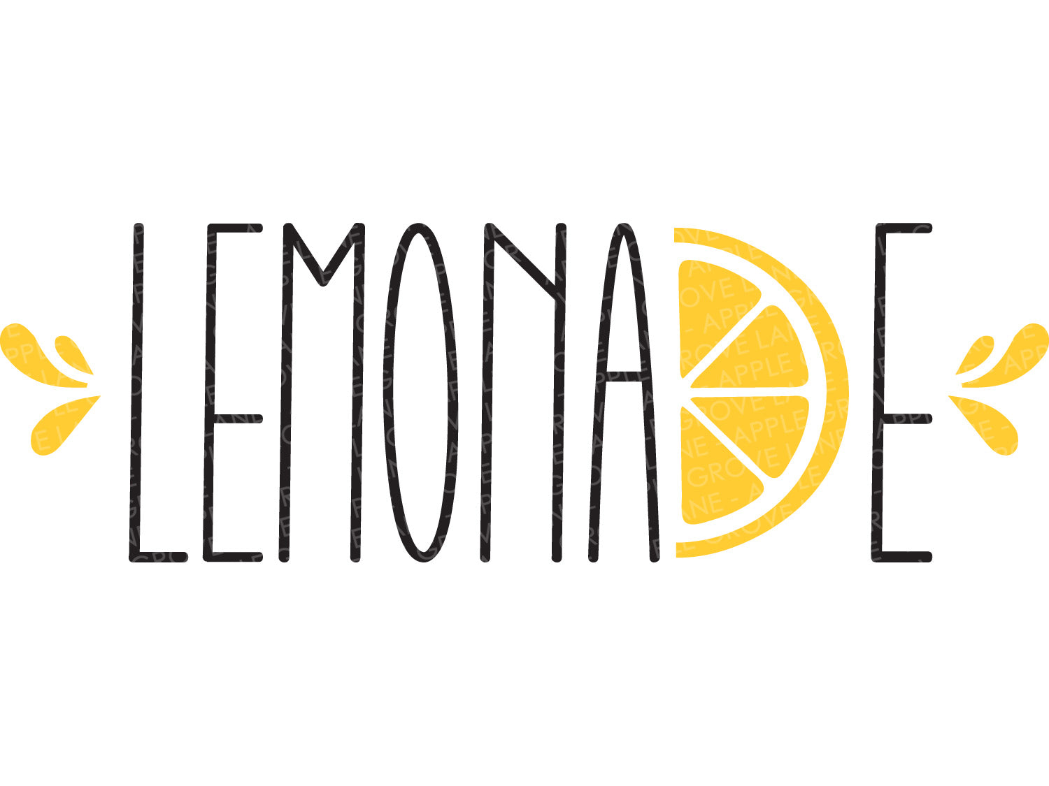 Lemonade Svg Cut File - Summer Svg - Lemons Svg - Make Lemonade Svg - Svg Eps Dxf Png